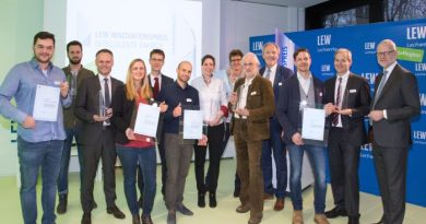 Gewinner des LEW Innovationspreises intelligente Energie 2018