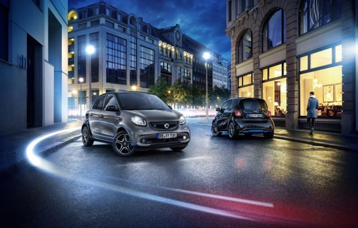 smart EQ forfour edition nightsky