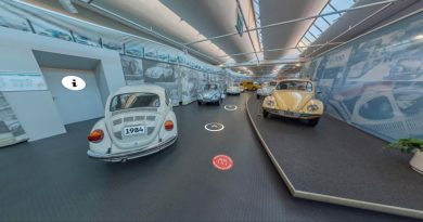 "AutoMuseum Volkswagen ""goes"" virtuell"